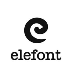 Logos creativos: Elefont y su mensaje subliminal de una trompa