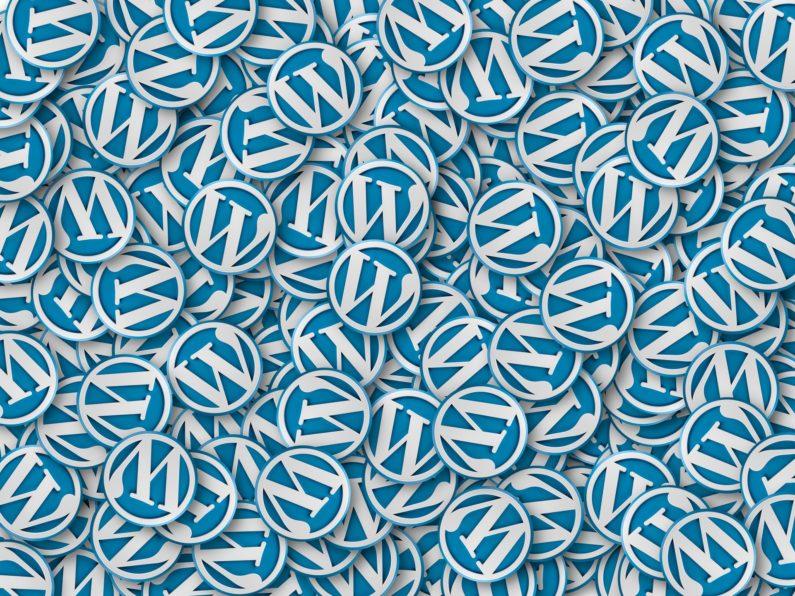 Muchas imágenes de logo de WordPress representan por qué elegir wordpress que tienes muchas webs famosas