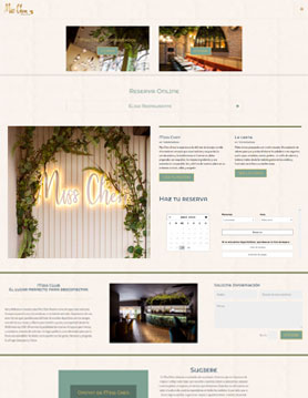 portfolio de empresa de seo en madrid proyecto web de miss chen