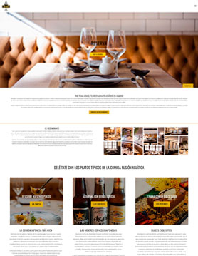 portfolio de empresa de seo en madrid proyecto web de the tuna house