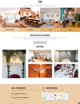 portfolio de empresa de seo en madrid proyecto web de top design